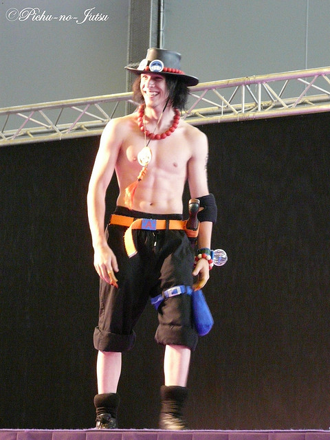 One Piece Ace cosplay
