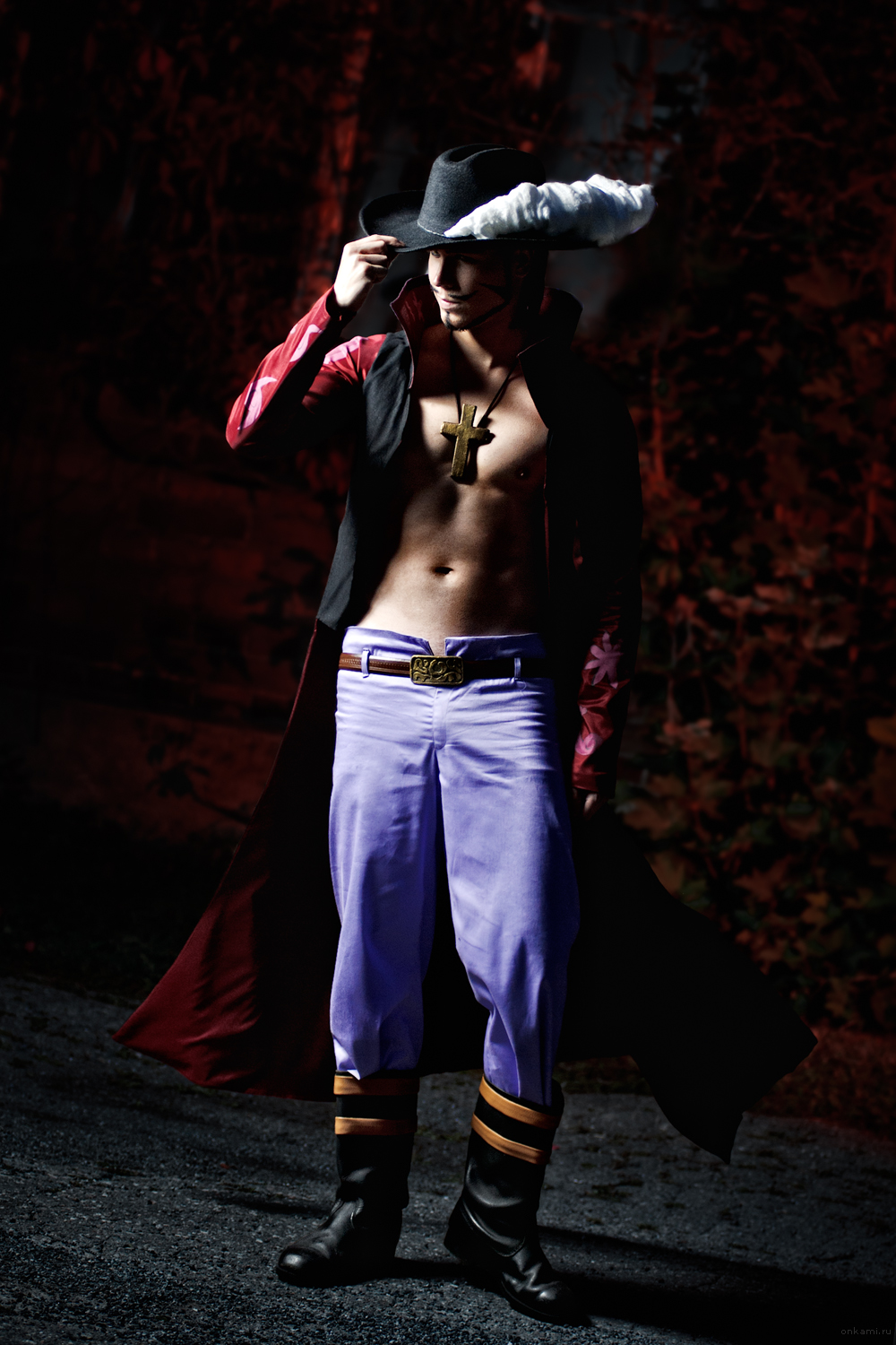 One Piece Dracule Mihawk cosplay