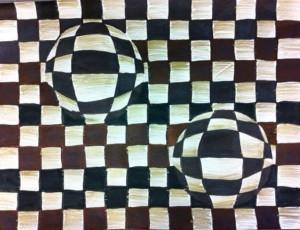 Рисуем оптическую иллюзию 4