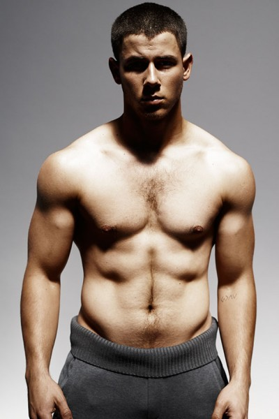 Nick Jonas Goes Shirtless For Details Magazine Oh No
