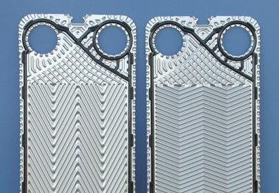 Каналы пластинчатого теплообменника