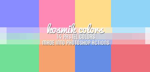 06 Kosmik Pastel Colors 14 Pastel Color Palette Ps Actions Natsukis Livejournal