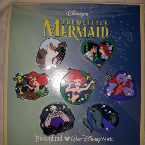 little mermaid pins
