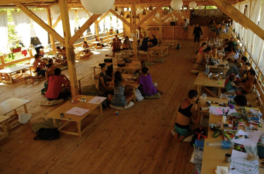 Пространство ECO Camp, Крым