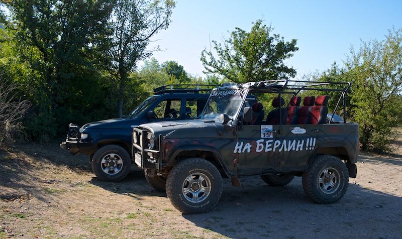 Экскурсия на джипах. Демерджи, Крым.