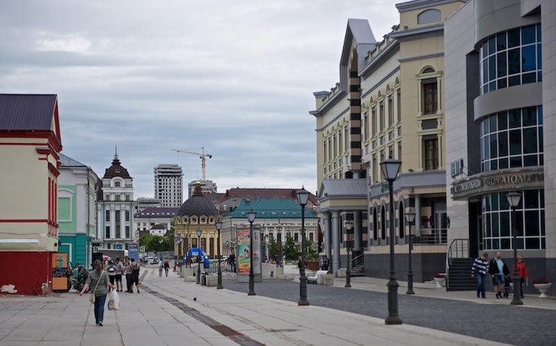 Улица Петербургская, Казань