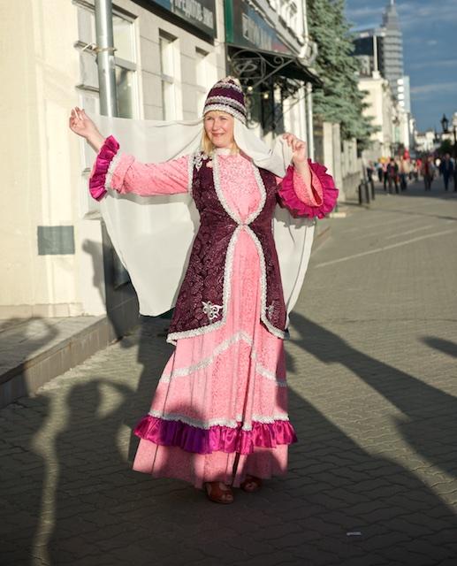 Прогулка по улице Баумана, Казань