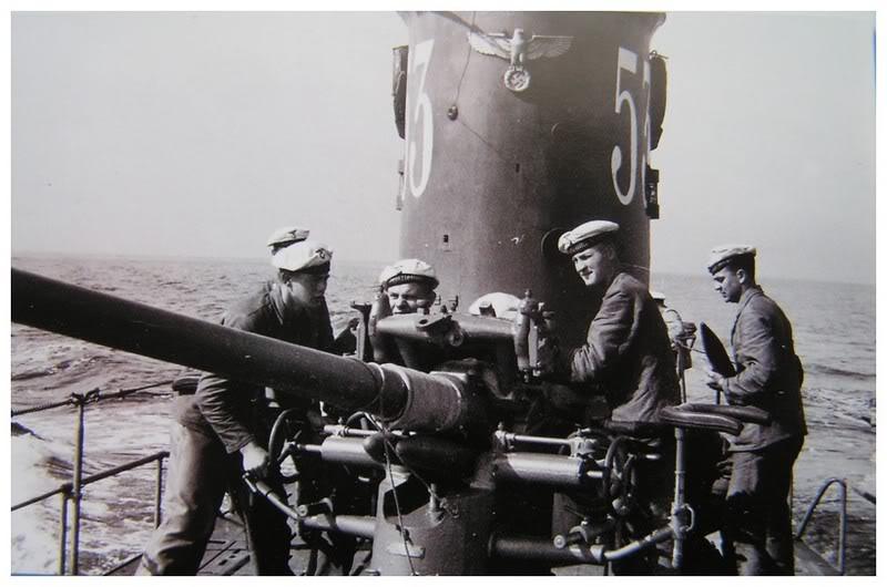 Фотографии немецких подводников
