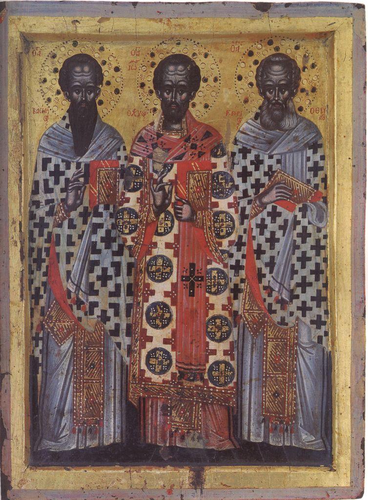 Па.111. Св. три Иерарха (59 на 37) кон.17 в