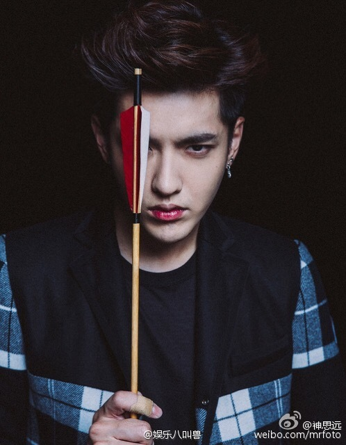 151214 Wu Yifan In Marie Claire Amp People Renwu Magazines