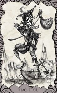 The Fool - Tarot Card.