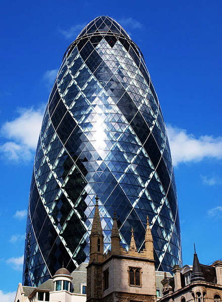 Modern Famous Buildings