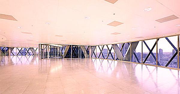 gherkin building inside