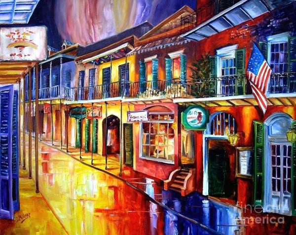 Bourbon Street Red