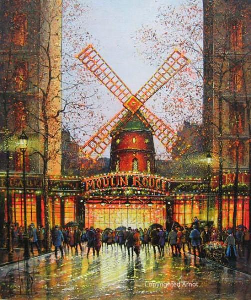 Paris le Moulin Rouge