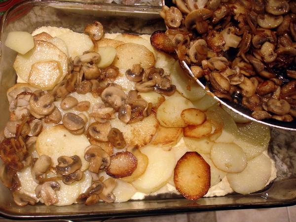 Mushroom Casserole - adding layers2
