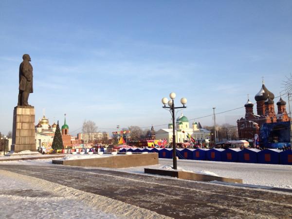 Russian New Year Tula