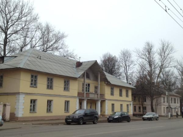 two yellow houses boldina