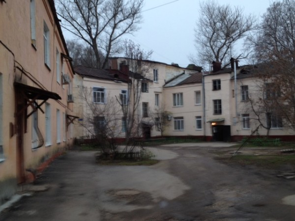 inner yard dom u parka