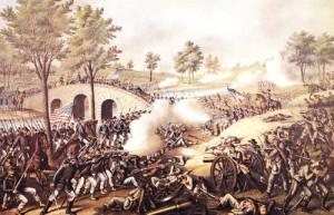 Currier-Ives-N-D_XX_The-Battle-Of-Antietam-1862_XX_Chromolithograph-Art-Brown-Collection