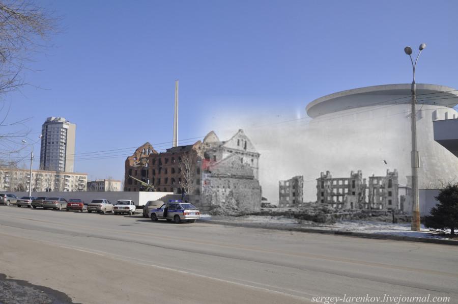 54.Сталинград 1943-2013 Разрушенная мельница