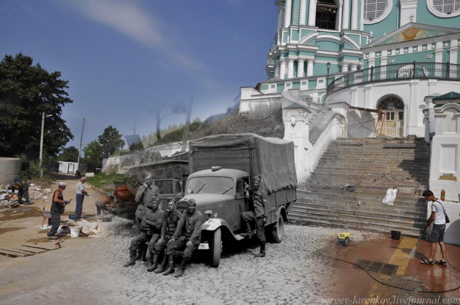 18.Smolensk 1941-2013 nazis, junto a la Basílica