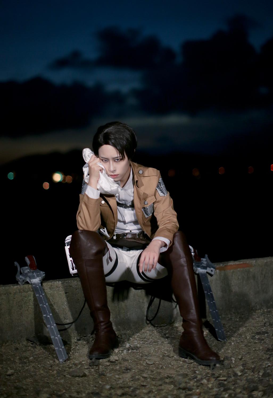 Attack On Titan Levi cosplay | Attack On Titan
