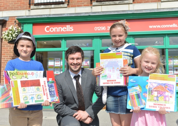 Children praised for dream home designs