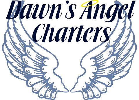 LOGO Dawns Angel Charters Dawayne Saucier & Stephanie Parrish