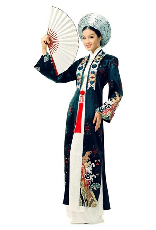 Картинка вьетнамского национального костюма