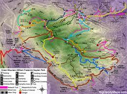 Hayden Green Mountain trail map
