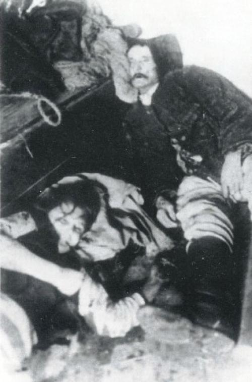 Игнаций Замойски с дочерью (увел)