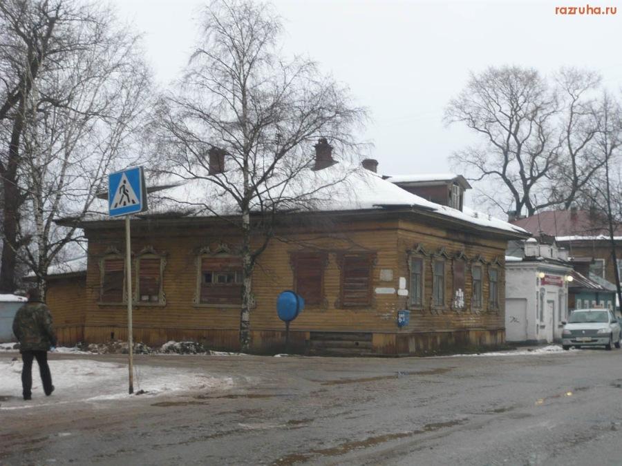 Великий Устюг Сове. проспект (главная улица города) 2010