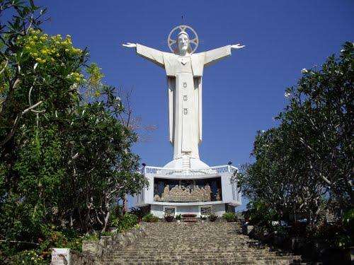 Vietnam's biggest Jesus Statue