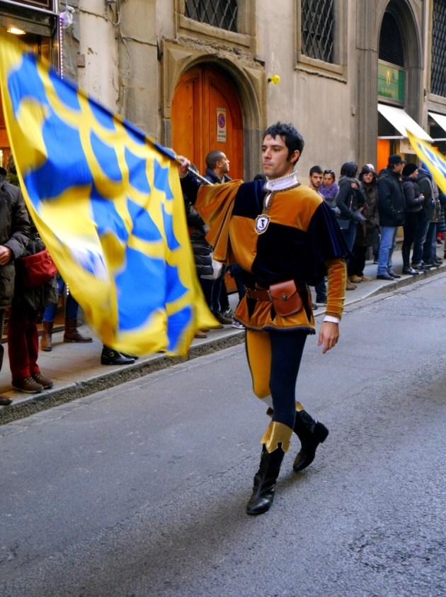 карнавальное шествие Флоренция Италия