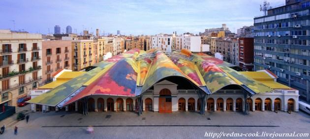 Рынок Santa Caterina Барселона