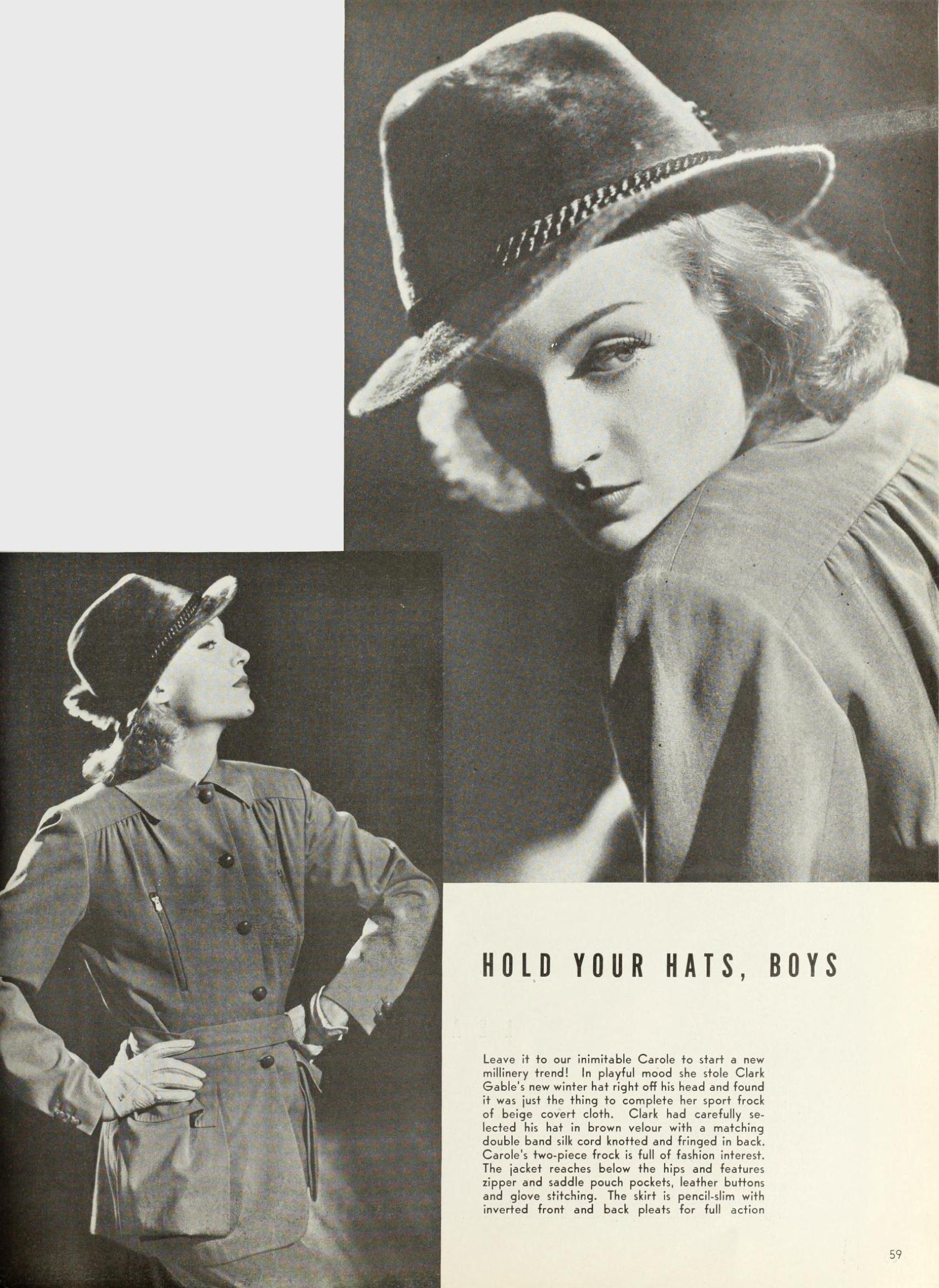 carole lombard photoplay dec 1937aa fashion