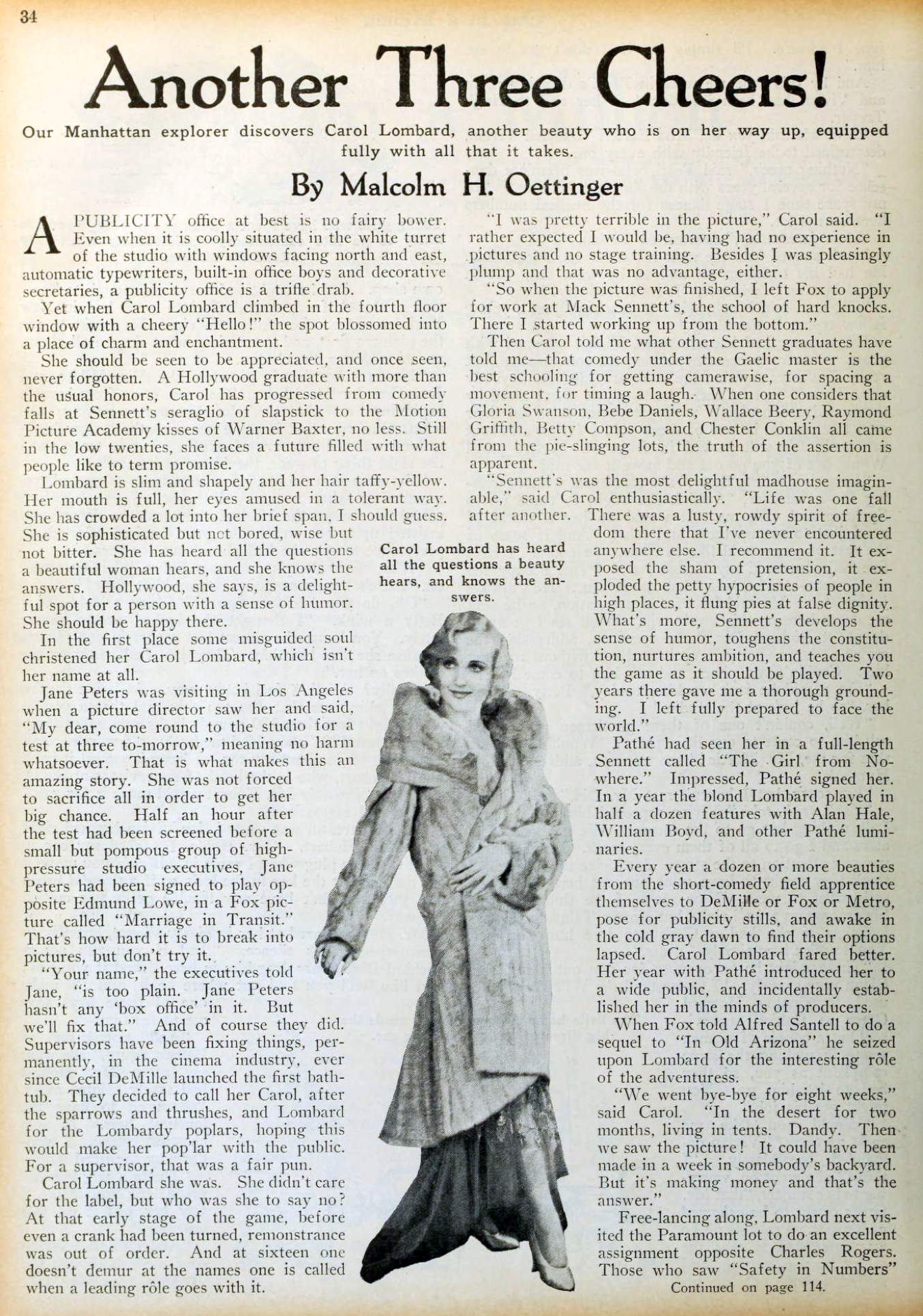 carole lombard picture play dec 1930a another three cheers 00