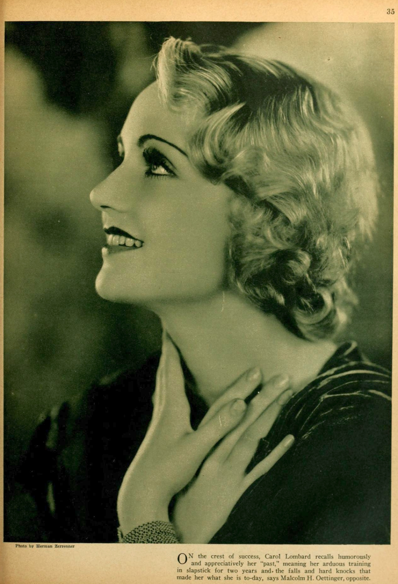 carole lombard picture play dec 1930 another three cheers 01b
