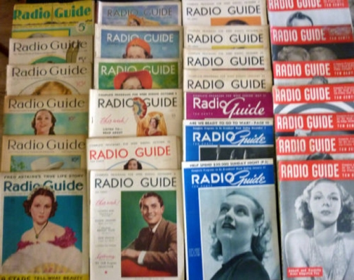radio guide assorted issues 00a