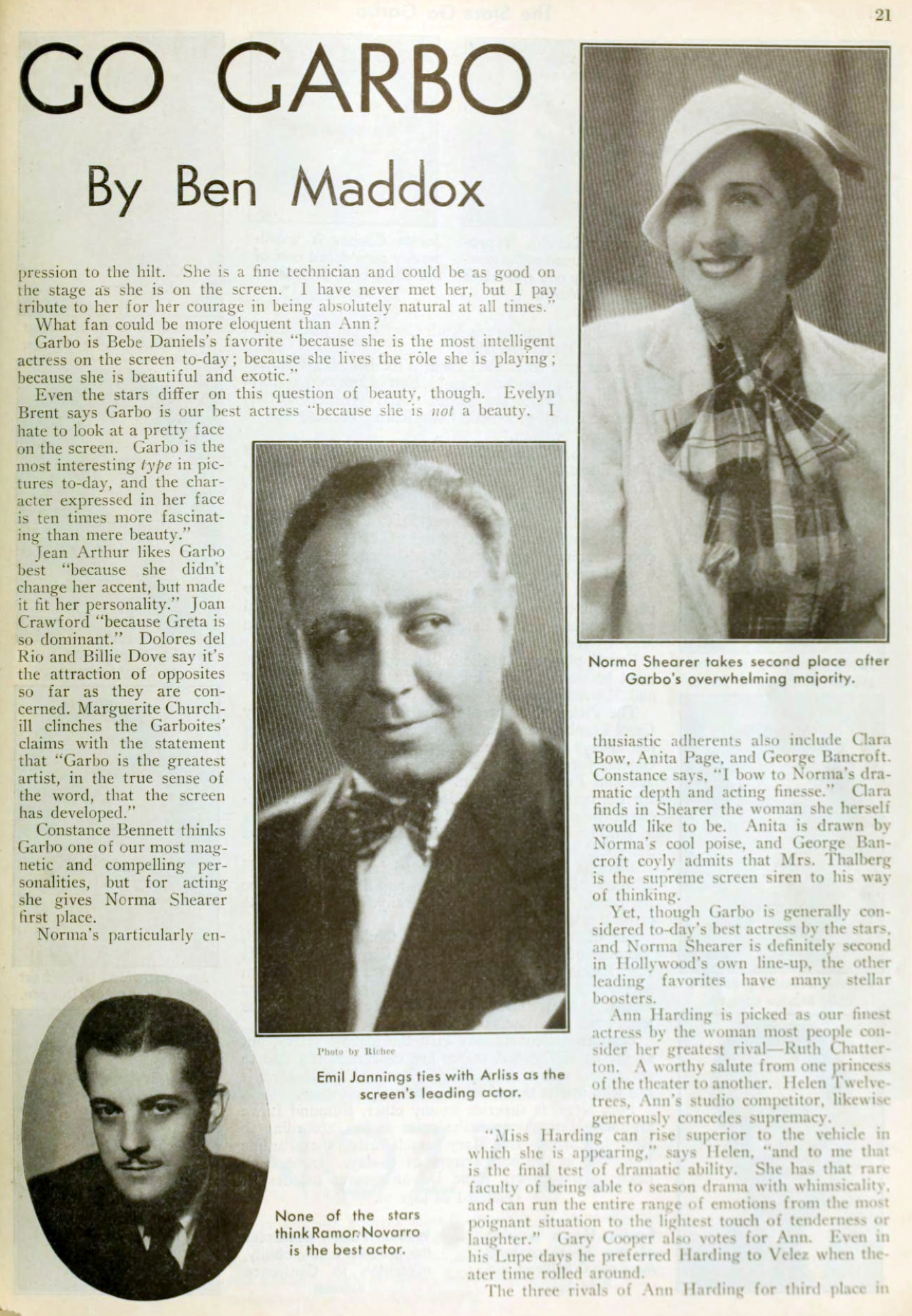carole lombard picture play march 1932 the stars go garbo 01a