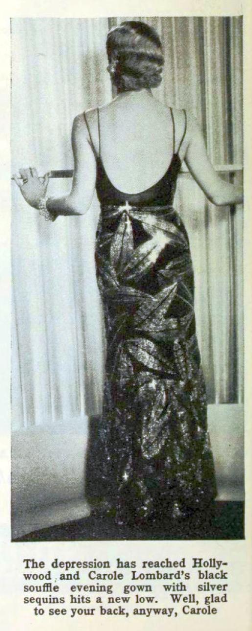 carole lombard photoplay aug 1931 cal york closeup