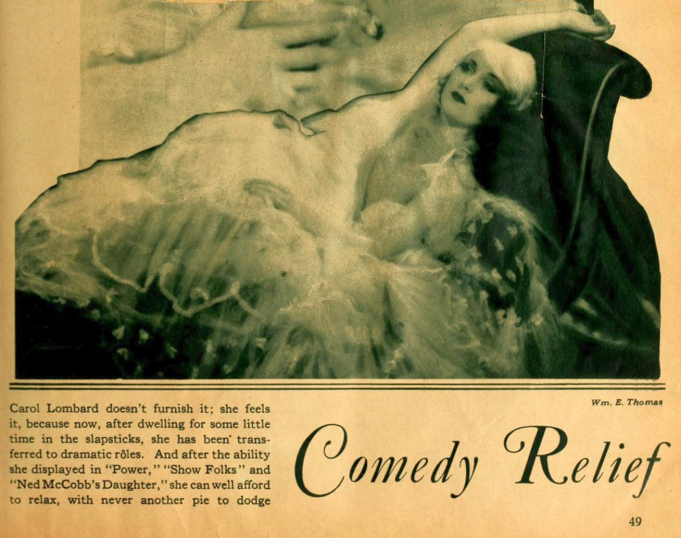 carole lombard motion picture march 1929 larger bottom