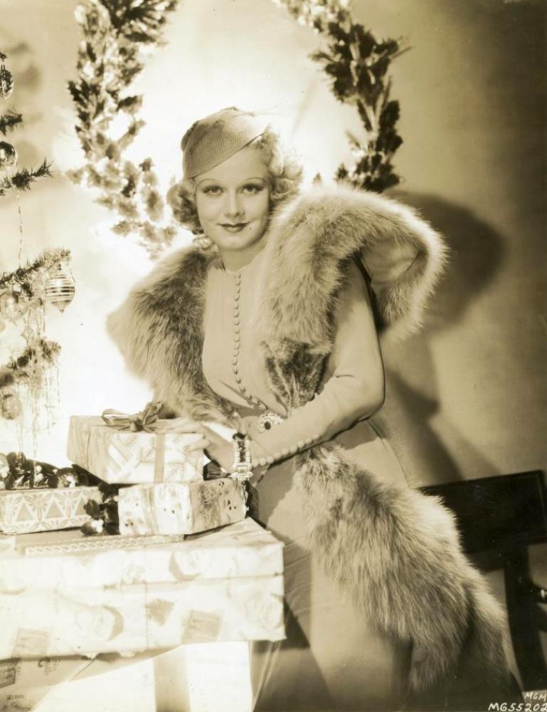 christmas jean harlow 1936