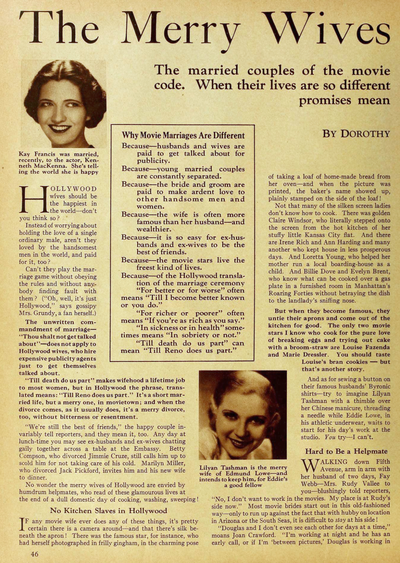 carole lombard motion picture october 1931 merry wives of hollywood 00a
