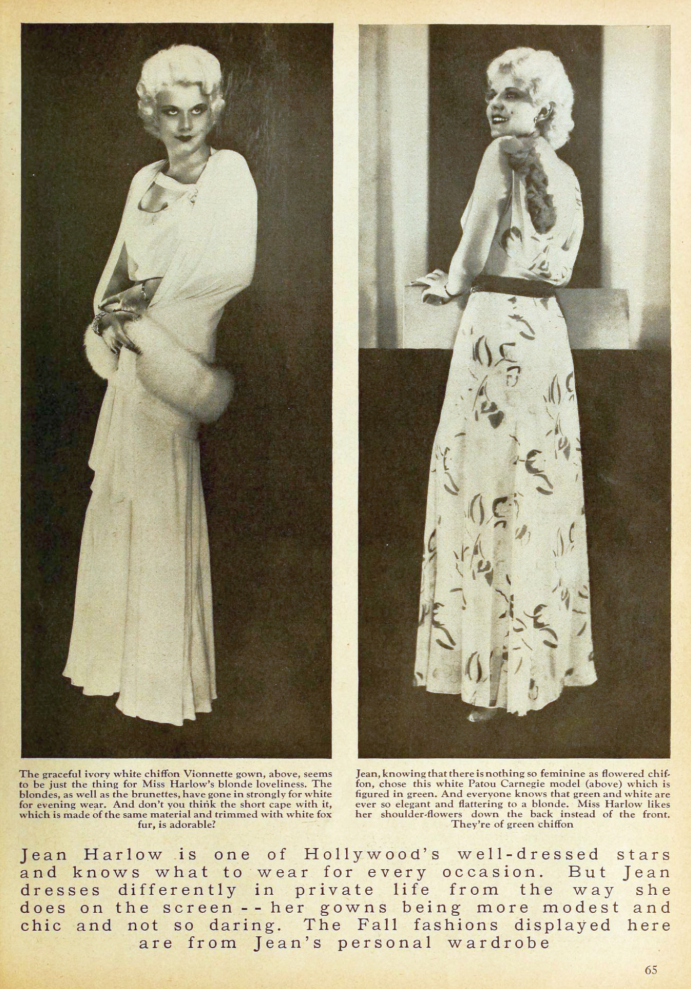 jean harlow motion picture october 1931 fall fashions 01a
