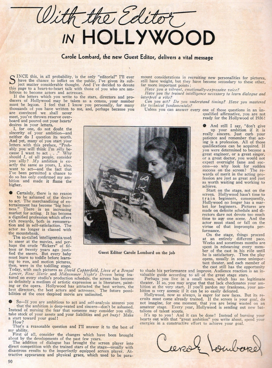 carole lombard screen book april 1936 ba