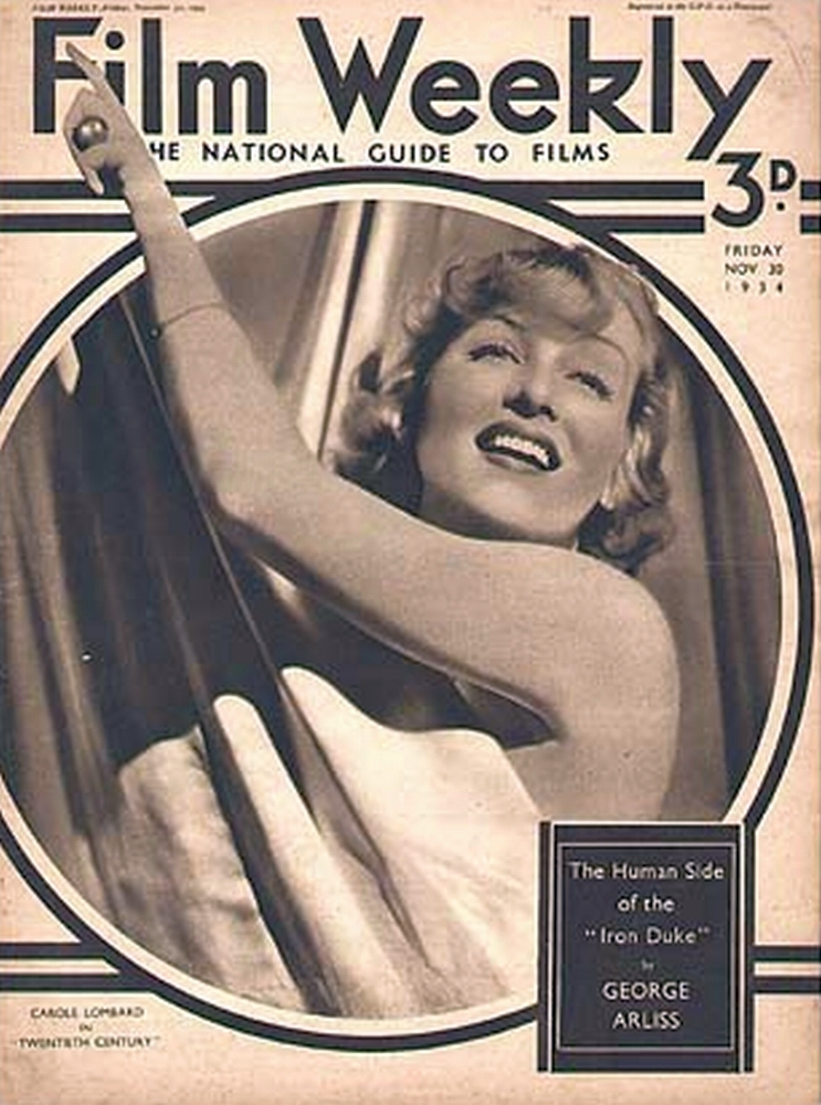 carole lombard film weekly 113034a