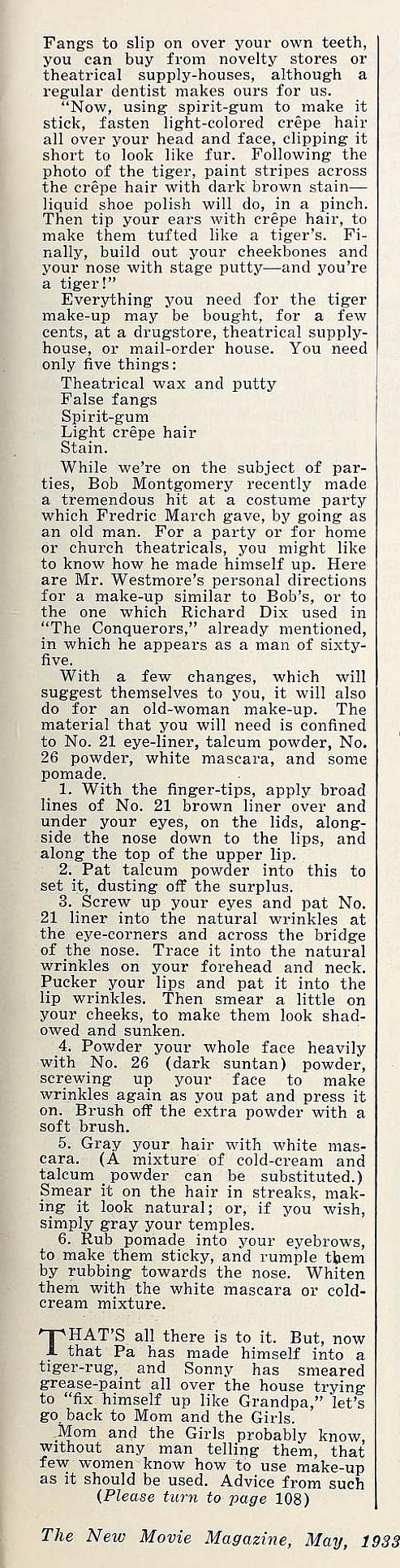 carole lombard the new movie magazine may 1933da