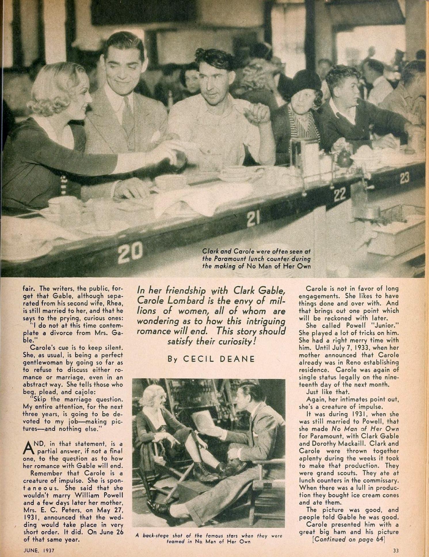 carole lombard hollywood june 1937ba